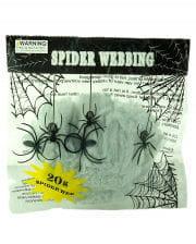 Spinnennetz weiß 20gr.