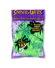 Black Light Spinnweben 50g