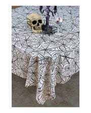 Cobwebs Halloween tablecloth