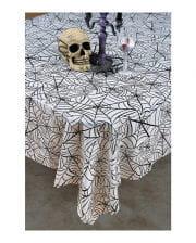 Spinnweben Halloween Tischdecke