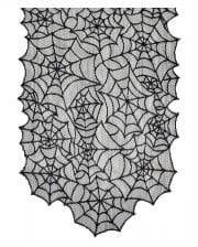 Halloween Cobweb Table Runner