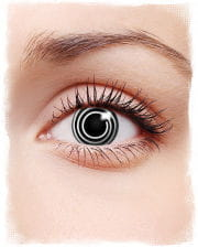 Spiral contact lenses Black & White
