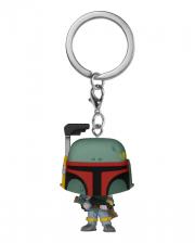 Star Wars Boba Fett Keychain Funko Pocket POP!