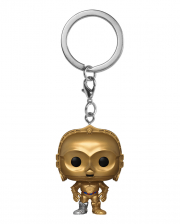 Star Wars C-3PO Schlüsselanhänger Funko Pocket POP!