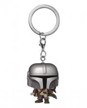 Star Wars The Mandalorian Keychain Funko Pocket POP!