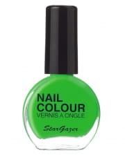 Stargazer Neon Nail Polish Green
