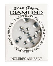 Stargazer Face Diamonds Silber