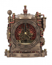 Steampunk Table Clock Horologist