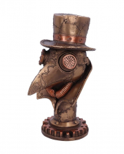 Steampunk Plague Doctor Bust 23 Cm