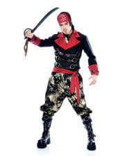 Apocalyptic Pirate Costume L  sc 1 st  Horror-Shop.com & Pirate Costume XL -Carnival Buccaneer Outfit in Plus Size | horror ...