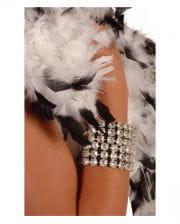 Strass silver bracelet