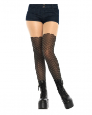 Pantyhose With Mermaid Scales Pattern