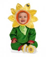 Sweet Sunflower Costume For Children