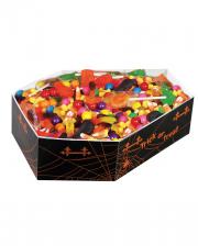 Halloween Süßigkeiten Schale im Sarg Design