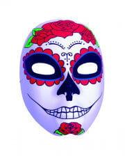 Day of the Dead Catarina Maske mit Rosen