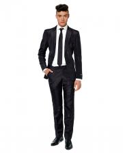 Suitmeister Solid Black Anzug