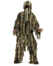 Swamp Camo Suit Kids Costume