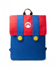 Super Mario Dungarees Denim Backpack