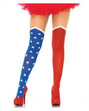 USA Supergirl pantyhose