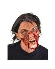 Fetzenkiefer Zombie-Maske