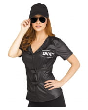 SWAT costume shirt for ladies