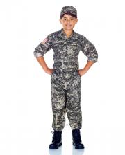 U.S. Army Camo Kinderkostüm