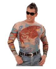 Tattoo Shirt Tiger & Drachen
