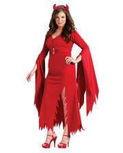 Gothic Teufelin Kostüm XL