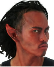 Lace Devil Ears Latex Application