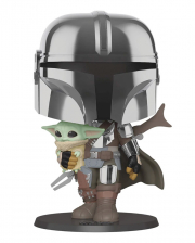"The Mandalorian & The Child 10"" Super Sized Funko POP!"