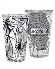 Nightmare Before Christmas - Jack & Sally Glass