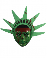 The Purge Lady Liberty Maske mit Lichteffekt