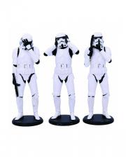 Three Wise Stormtrooper Figuren