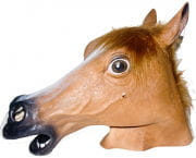 Animal Mask Horse Brown
