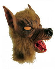Tiermaske Wolf aus Latex