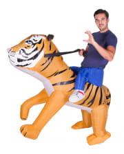 Tiger Aufblas Kostüm