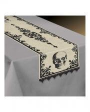 Tischläufer Totenkopf Boneyard 35x180cm