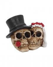 Forever Hochzeitspaar Skull Deko