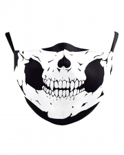 Skull Everyday Mask 2-ply With Filter Bag