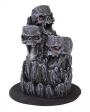Skull Mountain Backflow Incense Cone Holder