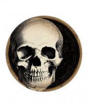 Totenkopf Boneyard Pappteller 10 St.