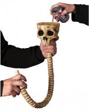 Totenkopf Getränke Trichter