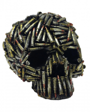 Skull With Cartridge Cases