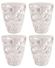 Skull Shotglas 4 Pieces