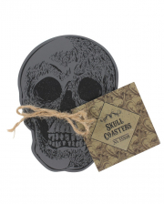 Skull Coaster Set 4 Pcs.