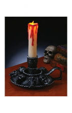 Skullhead Candle Holder With LED Light