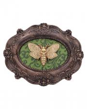 Atropos Macabre Moth Wall Plaque