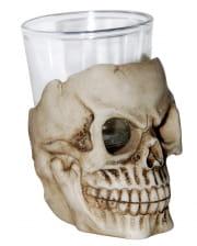 Totenkopf Schnapsglas 7 cm