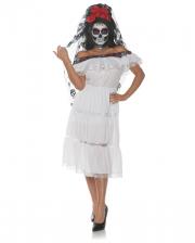 Totenschädel Senorita Kostüm
