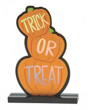 Trick Or Treat Pumpkin Table Decoration